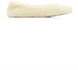 Flattered Nina Teddy Faux Fur Ballet Flats