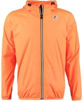 K-Way KWay LE VRAI CLAUDE Waterproof jacket orange extra fluo