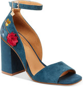 Nanette Lepore Nanette by Martina Embroidered Dress Sandals Women's Shoes