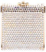 Judith Leiber Crystal Embellished Mini Minaudière