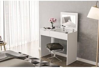 Ebern Designs Bengoa Vanity with Mirror