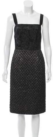 Dolce & Gabbana Brocade Sheath Dress w/ Tags