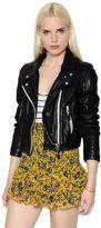 Etoile Isabel Marant Washed Leather Biker Jacket