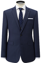 John Lewis Super 100s Wool Birdseye Tailored Suit Jacket, Airforce