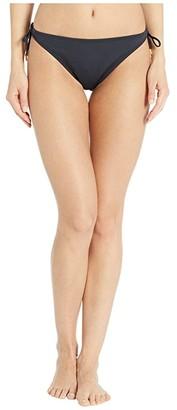 Bleu Rod Beattie Kore String Tie Side Hipster Bottoms (Black) Women's Swimwear