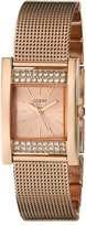GUESS GUESS? Women's U0127L3 -Gold Stainless-Steel Quartz Watch with -Gold Dial