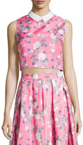 Erin Fetherston Josephine Sleeveless Floral-Print Top