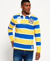 Superdry Leeds Rhinos Scrum Stripe Rugby Shirt