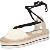 Dorothy Perkins Womens White Chinelo Espadrille- White