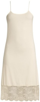 Natori Infinity Lace-Trimmed Slip Dress