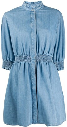 MSGM Denim Shirt Dress