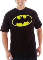 JCPenney Novelty T-Shirts Batman Shield Graphic Tee-Big & Tall