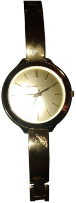 Michael Kors Gold Gold plated Watches