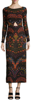 Free People Far Out Print Maxi Dress