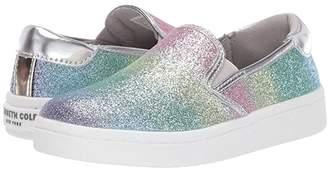 Kenneth Cole Reaction Luna Lylah (Little Kid/Big Kid) (Rainbow Silver) Girl's Shoes