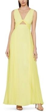 BCBGMAXAZRIA Cutout Maxi Dress
