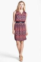 Anne Klein Ikat Print Dress