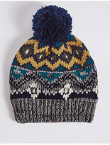 Marks and Spencer Kids' Fairisle Hat