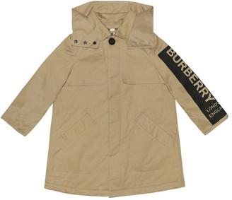 BURBERRY KIDS Daxton cotton coat