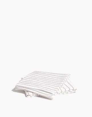 Madewell x Parachute Stitched Standard Pillow Sham Set