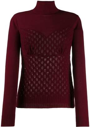 Sueundercover patterned knit jumper