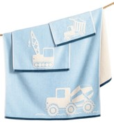 Kassatex Kids' Kassa Construction Hand Towel
