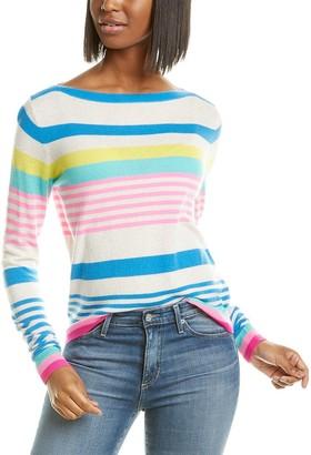 Autumn Cashmere Boatneck Cashmere Sweater