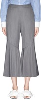 Muveil Cropped bell cuff suiting pants