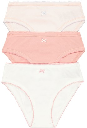 Bonpoint Set of 3 cotton briefs