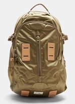 F/CE Satin Travel Backpack in Khaki