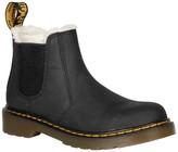 Dr. Martens 2976 Leonore Faux Fur Lined Chelsea Boot (Toddler & Little Kid)