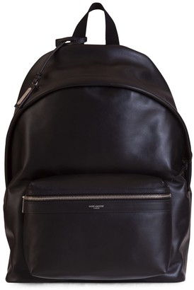 Saint Laurent City Matt Leather Backpack