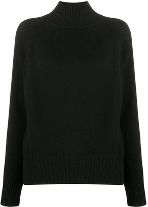 Allude Loose Fit Roll-Neck Jumper