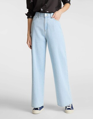 Lee Women's Cropped A Line Flare Jeans