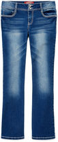 Arizona Embellished-Back-Pocket Bootcut Jeans - Girls Plus