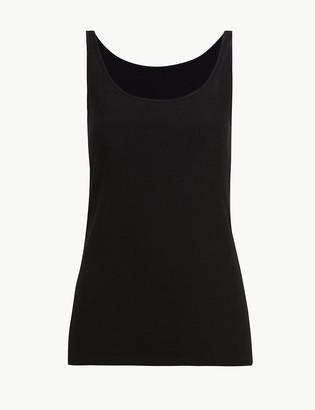 Marks and Spencer Built-up Shoulder Cotton Vest
