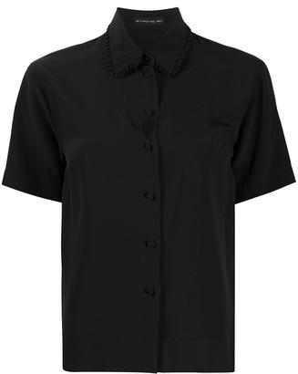 Etro Frill-Trimmed Collar Shirt