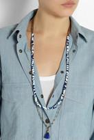 Isabel Marant Fuji gold-tone seashell necklace