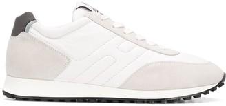 Hogan Suede Panel Sneakers
