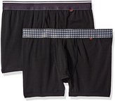 Dockers 2-Pack Cotton Stretch Anchor Printed Waistband Boxer Brief