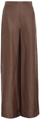 Zimmermann Silk Twill Wide Leg Pant