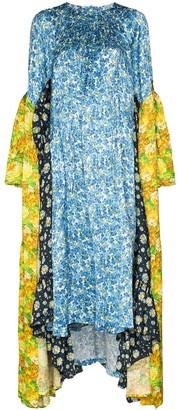 Vetements floral-print midi dress