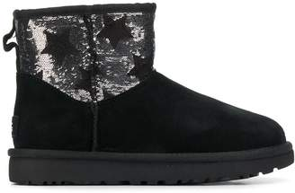 UGG sequined star embellished ankle boots