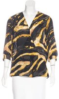 Kelly Wearstler Silk Printed Blouse