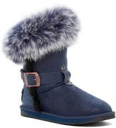 Australia Luxe Collective Tsar Short Genuine Fox Fur and Shearling Boot