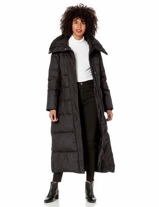 Cole Haan Women's Stand collar essentail down coat