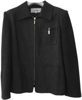JC de CASTELBAJAC Grey Wool Jacket for Women
