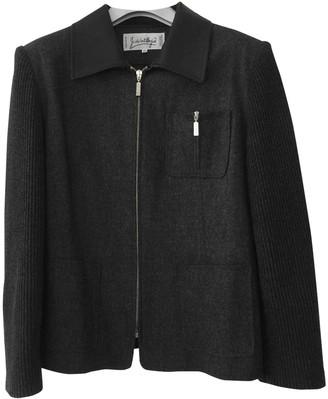 JC de CASTELBAJAC Grey Wool Jacket for Women