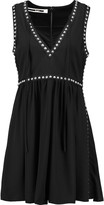 McQ by Alexander McQueen Embellished crepe mini dress
