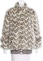 Marc Jacobs Faux Fur Jacket